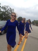 Image of max azria cobalt thermal dress