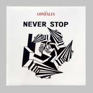 "Image of Chilly Gonzales ""Never Stop"" Ltd 12"" Clear Vinyl (with Erol Alkan Piano Pella)"