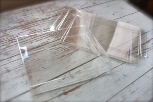 Image of Clear Card Boxes