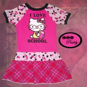Image of **SOLD OUT** Hello Kitty I Love School Dress - Size 3/4T