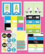 Image of Roller Skate Birthday party Collection