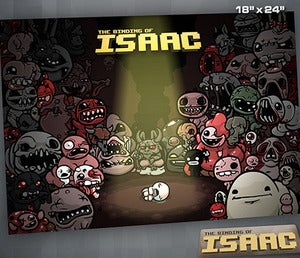 Image of Signed -  Binding of Isaac Poster