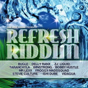 "Image of Reggae Dancehall Compilation ""Refresh Riddim"" - CD"
