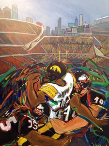 Image of Iowa Hawkeyes vs. Northern Illinois Huskies at Soldier Field