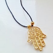Image of Hamsa Charm Necklace