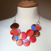 Image of the sarah bib necklace