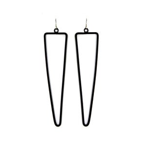 Image of Triangular Line Earrings
