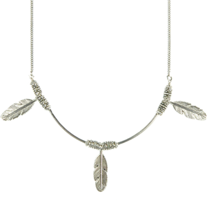 Image of Peruvian Feather Necklace