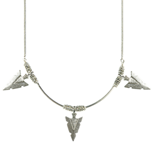 Image of Peruvian Arrowhead Necklace