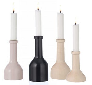 Image of Wooden Candleholder by Ferm Living