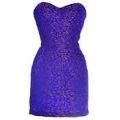 Image of 40% OFF! Blue Midas Jacquard Mini Dress