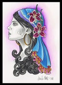 Image of Gypsy Lady- Lily Print by Brenda Flatmo