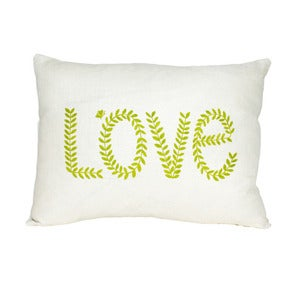 Image of a love cushion.