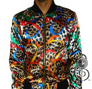 Image of King Cheetah Silk Jacket