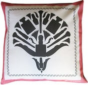 "Image of Glam Damask 16"" x 16"" Pillow"