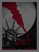 Image of Planet Of The Apes Silkscreen Poster