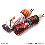 Image of FILTER017 X  EVANGELION - EVA-02 FOLK STYLE FOLDING UMBRELLA