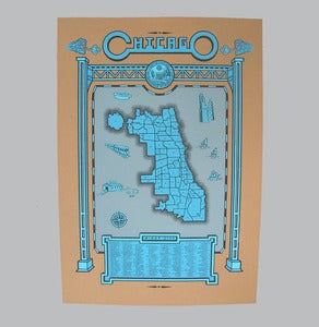 Image of chicago map
