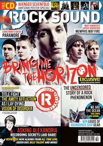 Image of ISSUE 166 / BRING ME THE HORIZON + FREE POSTERS
