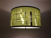 Image of Green Grass Tiki Pendant Lamp by Mookie Sato 
