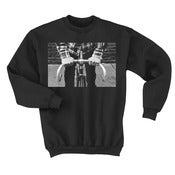 Drop Bars Not Bombs / Black Crewneck