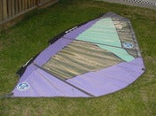 Image of North Sails Quattro 4.5m windsurfing Sail ,Luff= 4.10m , Boom= 1.55m