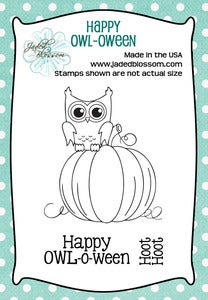 Image of Happy OWL-o-ween (2x3)