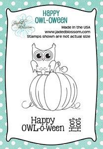 Image of Happy OWL-o-ween (2x3)