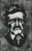 Image of Portrait of an Author, Poe vs. Poe rages on