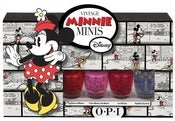 Image of OPI Nail Polish Vintage Minnie Mouse Collection Summer 2012 Mini Set