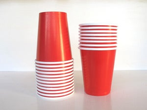 Image of Coloured Paper Cups