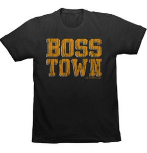 Image of BossTown Black & Gold Tee