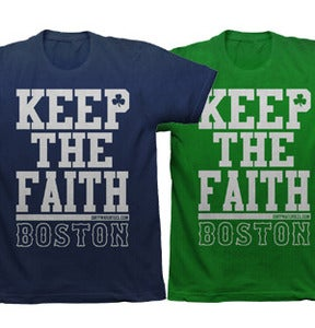 Image of Keep the Faith Tee