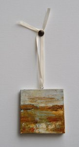 Image of Original art by Melissa Payne Baker - 3&quot;x3&quot; Itty Bitty Landscape I