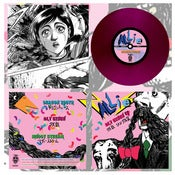 "Image of DK003: Allie (Japan) - Alt Eisen 7"" EP - Transparent Purple /250 - Manga packaging 'Made To Order'"