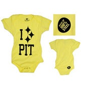 Image of PC I 'Steel' PIT Baby Onesie Lemon