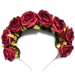 Image of Whole Lotta Rosie Headband - Wine