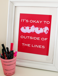 "Image of ""It's okay"" Art Print"