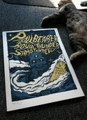 Image of Pallbearer, Royal Thunder, Samothrace poster (off-white)