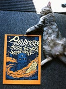 Image of Pallbearer, Royal Thunder, Samothrace poster (butcher orange)