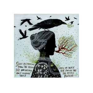 Image of Madrones and Ravens, Limited Edition Archival Inkjet Print