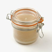 Image of Beeswax parfait jar candle