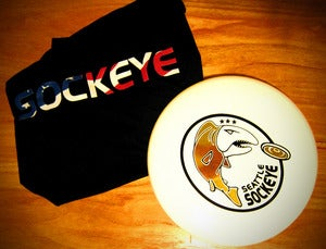 Image of Gold Sockeye Disc - Signed!