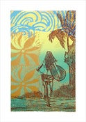 Image of &quot;SUMMER DAZE&quot; Serigraph