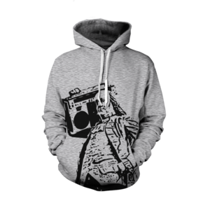 Image of Ben Jammin' Hoodie (Grey)