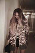 Image of 1970's Leopard Print Coat