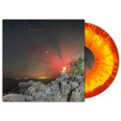 "Image of The Stereo State- ""Crossing Canyons"" 10"" (Red and Yellow w/ Orange Splatter)"