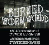 Image of BURNED WORMWOOD CUSTOM FONT