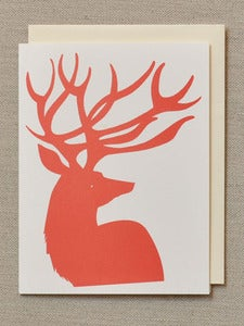 Image of Red Deer Holiday Card