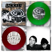 "Image of DK021: Jackals/Grazes - Split 7"" EP - Transparent Green /200"